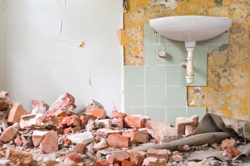 bathroom renovation rubbish Removal Melbourne