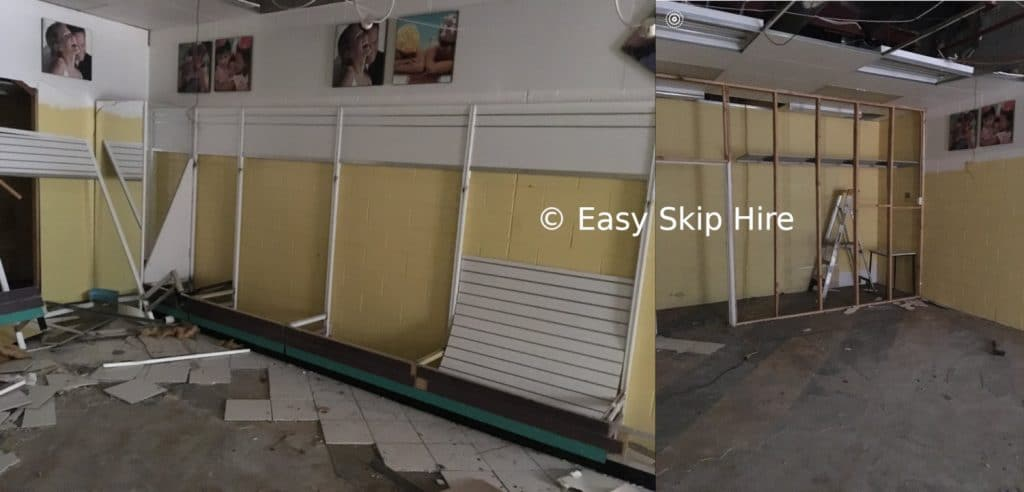 shop fittings rubbish removal melbourne