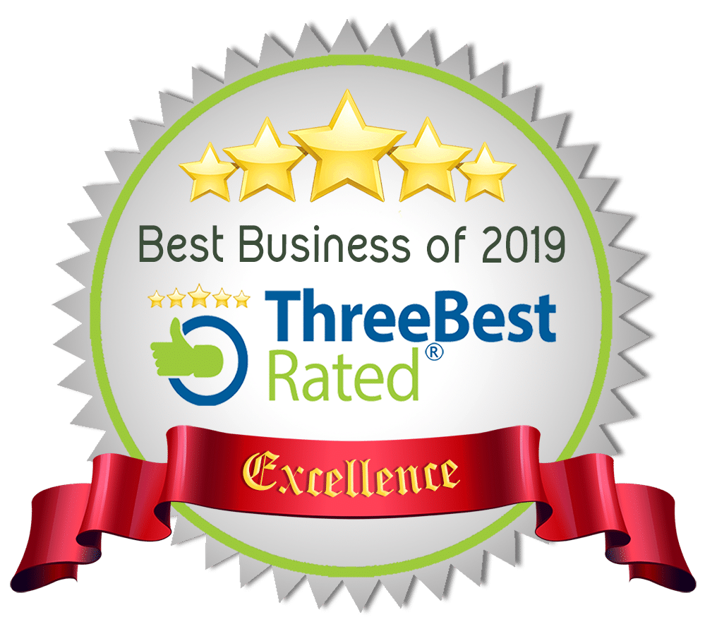 Three Best Rated Companies Badge 2019