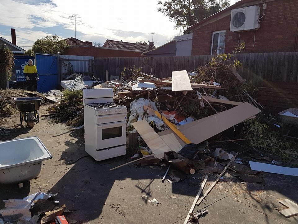 big rubbish removal job