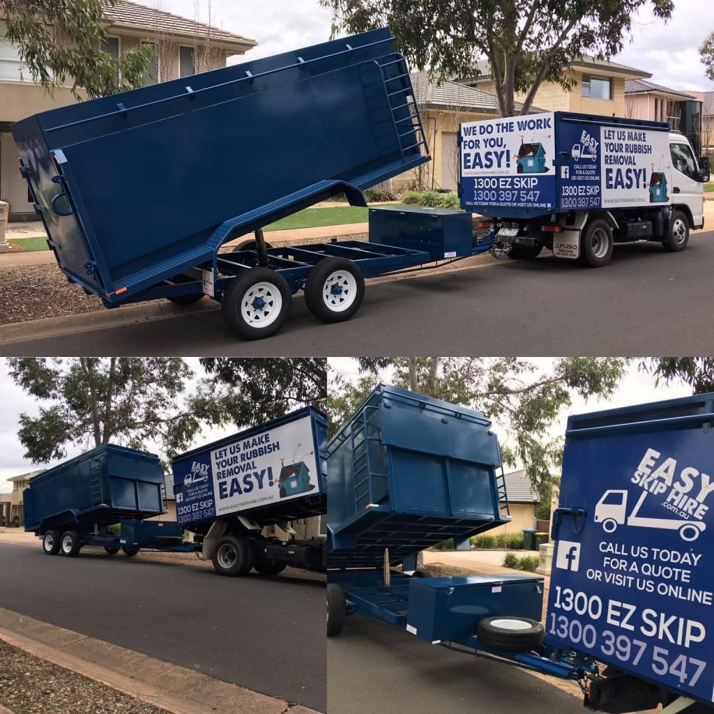 rubbish removal vs skip bin hire