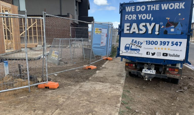 building site rubbish removal melbourne after