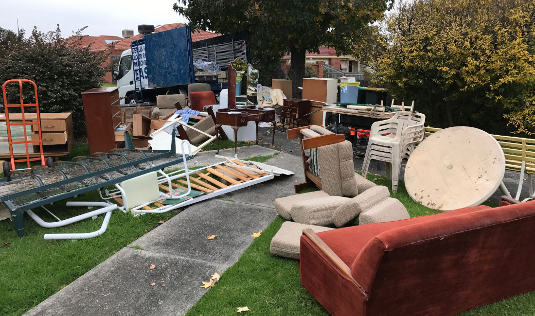 deceased estate rubbish removal melbourne before