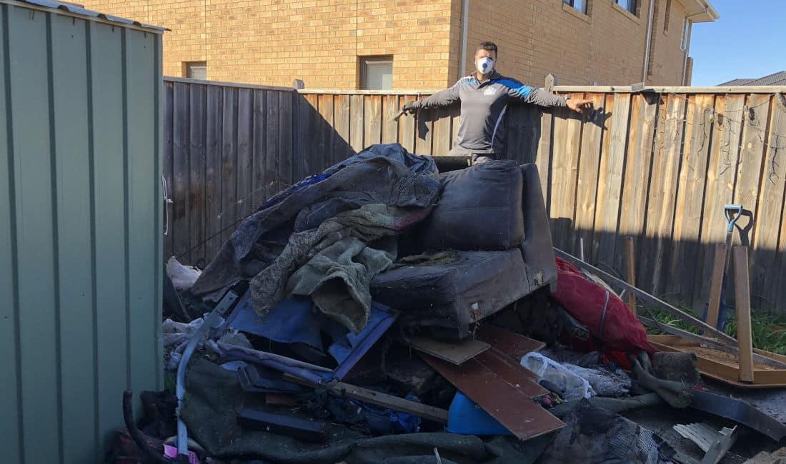 domestic rubbish removal melbourne before