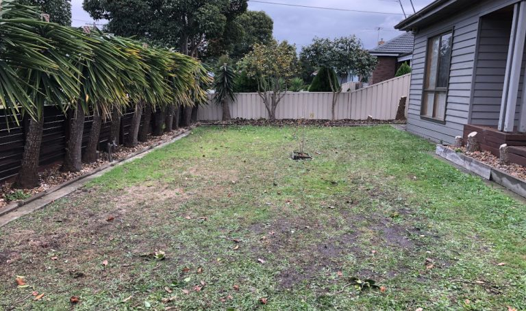 garden waste rubbish removal melbourne after