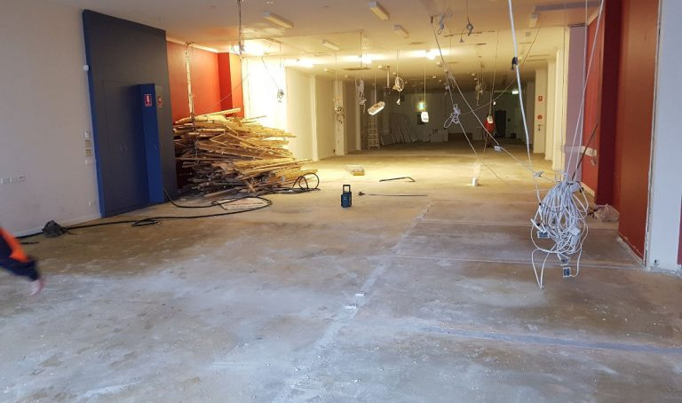 office fit out rubbish removal melbourne after