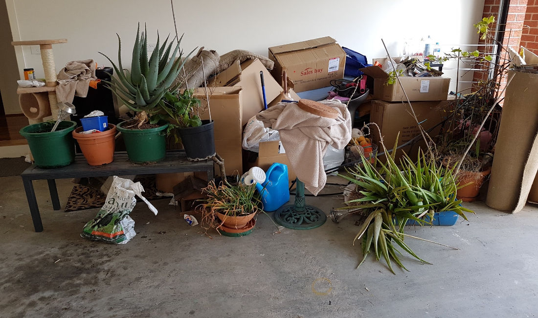 residential rubbish removal melbourne before