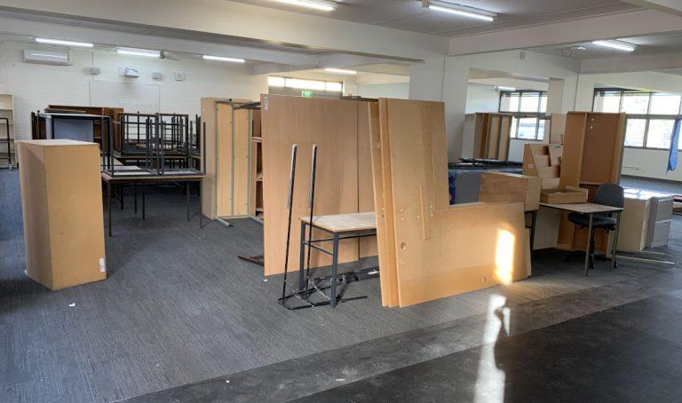 school rubbish management melbourne before