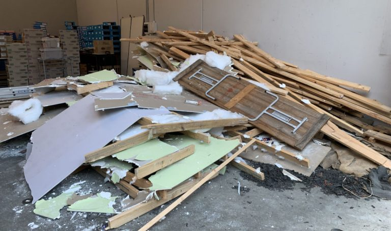 shop fitout removal melbourne before