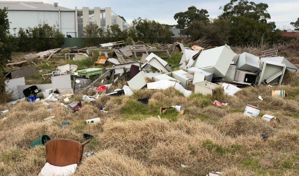 dumped rubbish removal melbourne