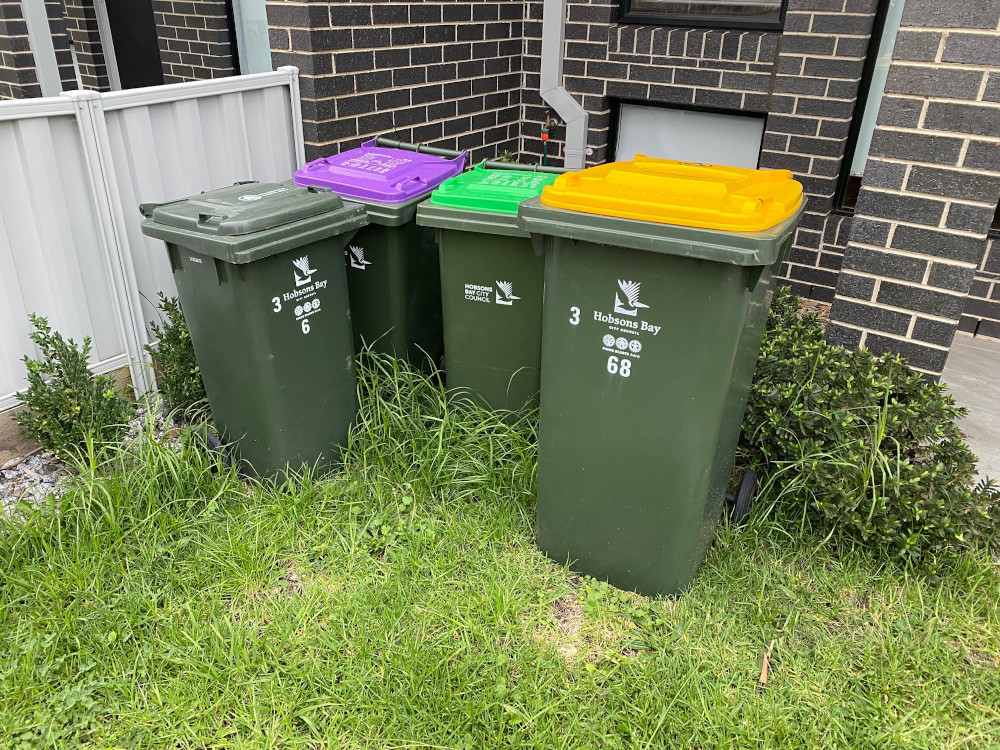victoria rubbish bin system
