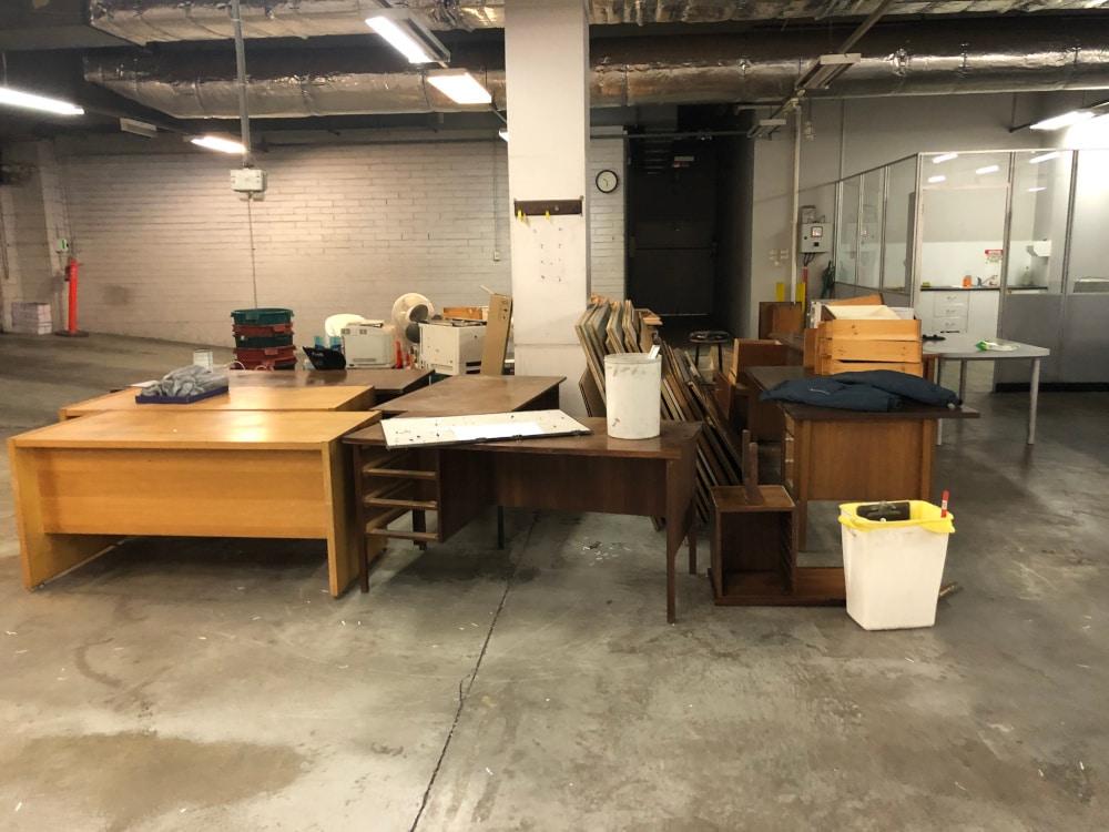 Office Furniture Rubbish Removal Melbourne