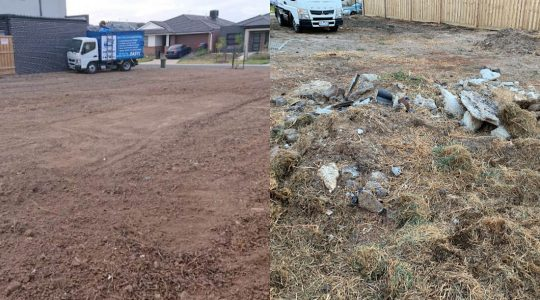 builders rubbish removal after