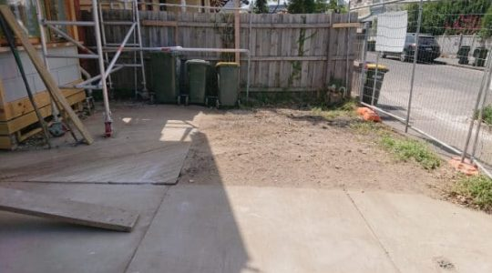 building rubbish removal service after